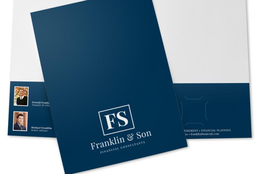 Simple Presentation Folders