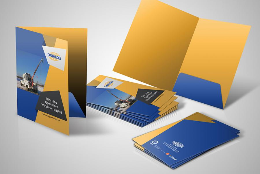 Coloured Presentation Folders
